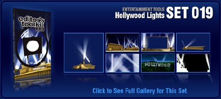 Digital Juice - Editor's Toolkit Pro 019 Hollywood Lights