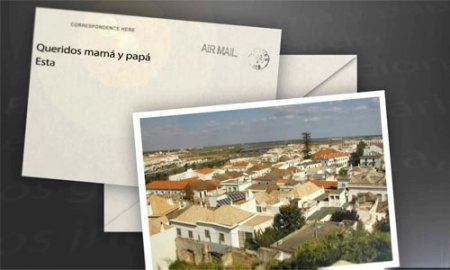 After Effects project - Photo Postcards