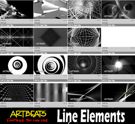 Artbeats Line Elements