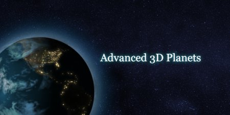 After Effects Project +TUTORIAL - Advanced 3D Planets