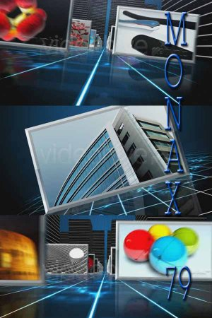 After Effects project VideoHive Pure 3D HD Displays V3 86753