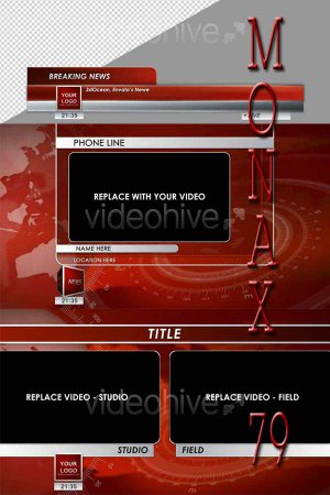After Effects project VideoHive Broadcast HD Graphics Pack 84778
