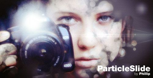 Project After Effects Videohive - ParticleSlide