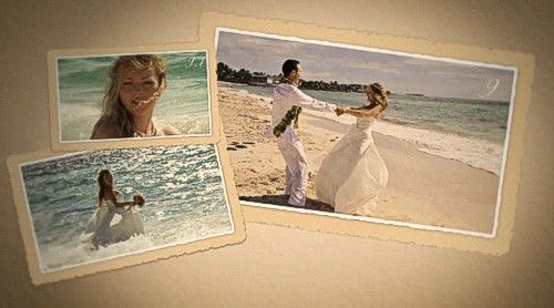 After Effects Project - Wedding Scrapbook
