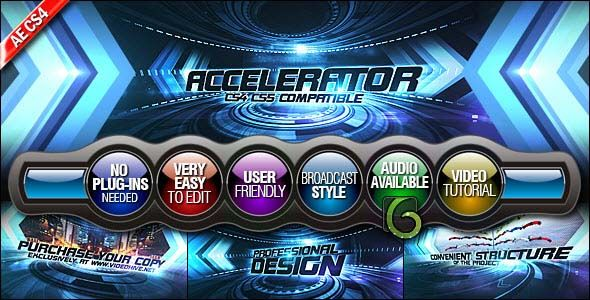 Videohive After Effects Project - Accelerator