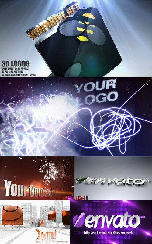 3d Project Pack for After Effects
