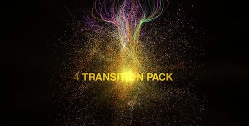 Videohive After Effects Project - Particules Transitions Pack