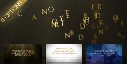 Videohive After Effects Project - Wind Swept Text