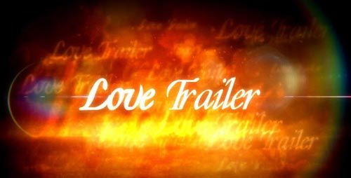 Videohive After Effects Project - Love Trailer