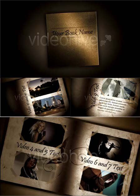 VideoHive - After Effects Project - Video Book