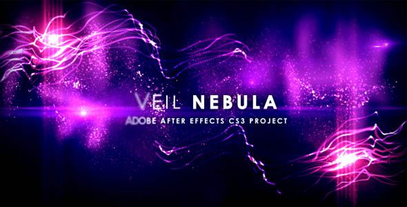 Veil Nebula After Effects project