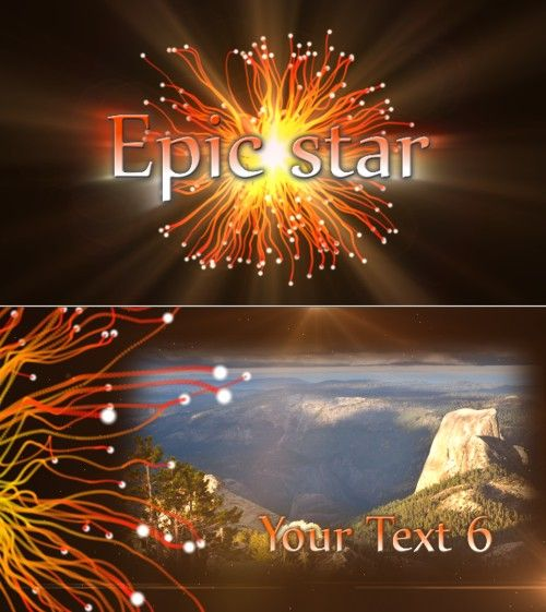 After Effects Project epic star