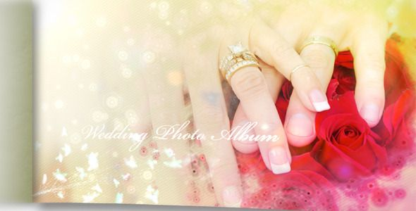 After Effects Project - Wedding Photo Album And Slideshow II