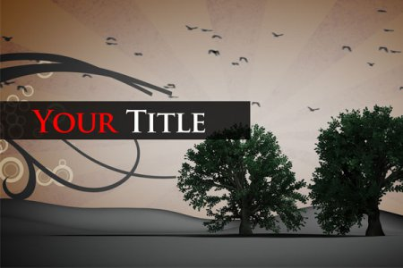 After Effects Project - GRAPHIC TITLE 2