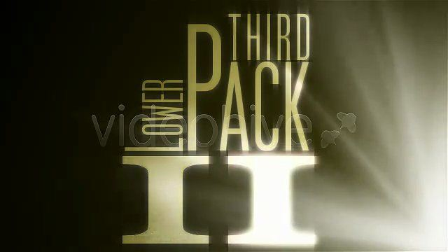 Videohive Lower Third PACK II After Effects