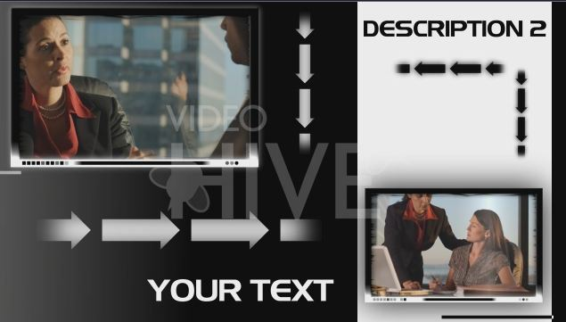 Videohive Black or White After Effects project