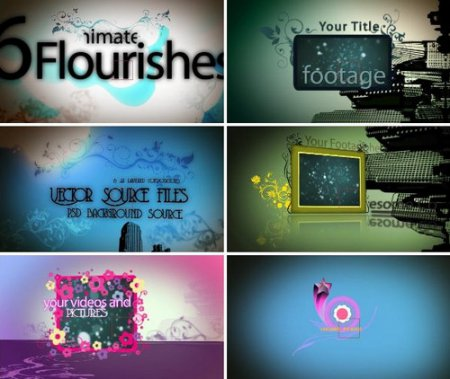 Videohive - Flower Power (AE CS3 проект)