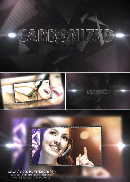 After Effects Project Carbonized