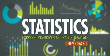 Videohive Statistics Theme Pack 1 - After Effects Project