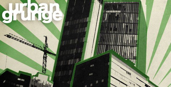 Videohive Urban Grunge project After Effects