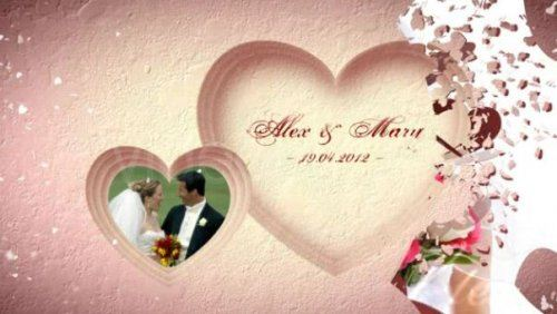 VideoHive - Wedding Hearts Slideshow
