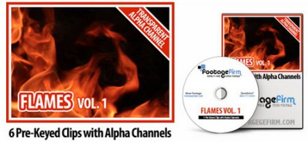 Footage Firm: Flames Vol. 1 (Special Effects with Alpha Channels)