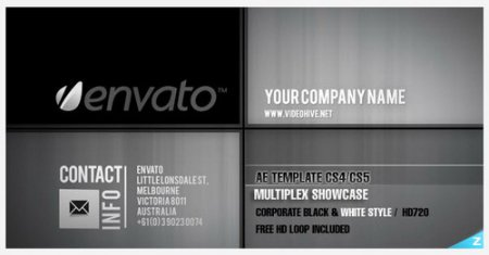 Multiplex Showcase — After Effects Project(Videohive)