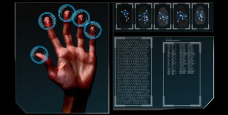 HD Fingerprint Scan Identification Interface — Motion Graphics (Videohive)