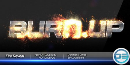Fire Reveal — After Effects Project(Videohive)