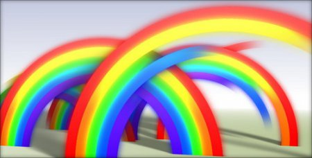 Rainbow Reveal — After Effects Project(Videohive)
