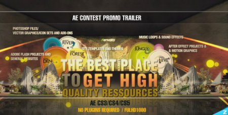 Contest Promo Trailer Project - After Effects Project (Videohive)