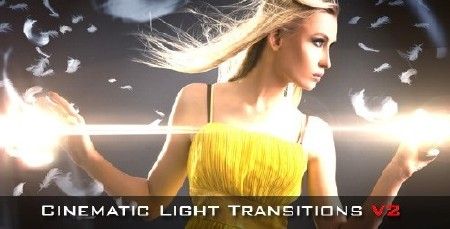 Cinematic light transitions v2 10 pack