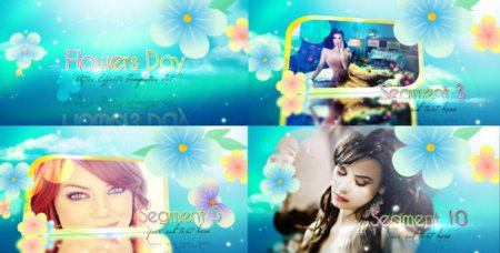 Flowers Day Promo Worker - After Effects Project (Videohive)