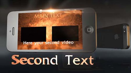 3D iPhone 5 Intro - After Effects Project
